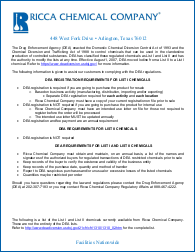 DEA Registration Requirements